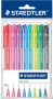 "Stylo bille ""Ball 423"" pointe moyenne, set de 10 couleurs - Rainbow colours"