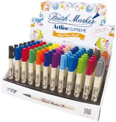 "Marker ""Supreme Brush"" display met 72 stuks - Assortie"