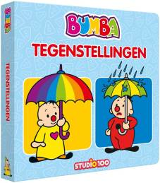 "Kartonboek XL ""Tegenstellingen"" 15 spreads + cover, 360x285mm"