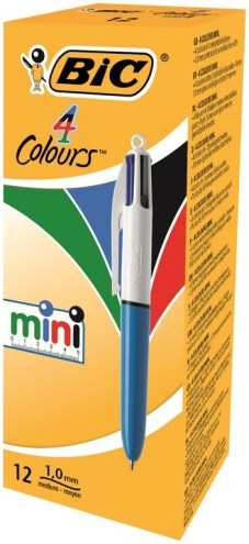 "4-kleuren balpen ""Mini"" medium 1.0mm"