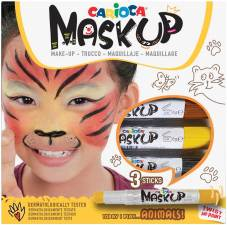 "Kindergrime ""Mask Up"" set van 3 sticks, dermatologisch getest - Animals"