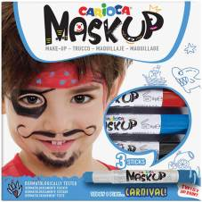 "Maquillage ""Mask Up"" set de 3 sticks, testé dermatologiquement - Carnival"