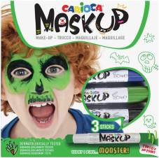 "Maquillage ""Mask Up"" set de 3 sticks, testé dermatologiquement - Monster"
