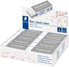 "Gomme ""Mars Plastic Colour"" 65x23x13mm - Gris Clair"