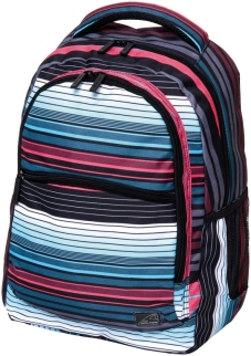 "Rugtas ""Base Classic"" 32x45x21cm, 30l, 600D Polyester - Scale Stripes"