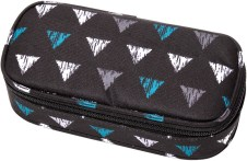 "Pennendoos ""Box Classic"" 21x10x6cm, 600D Polyester - Twisted Triangles"