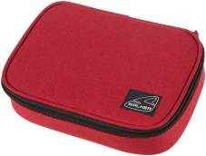 "Pennendoos ""Big Box Classic"" 22.5x16x6cm, 600D Polyester - Red Melange"