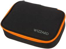 "Trousse plumier ""Big Box Wizzard"" 22.5x16x6cm, 600D Polyester - Black Melange"