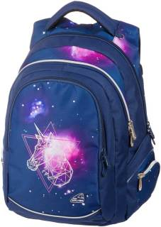 "Sac à dos ""Fame Out of Space"" 32x44x24cm, 32l, 600D Polyester - Dark Blue"
