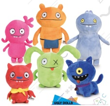 "Peluche ""Ugly Dolls"" 28cm - Assorti"