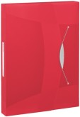 "Documentenbox A4 ""Vivida"" in Polypropyleen, capaciteit: 350 pagina's - Rood"