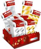 "Display ""Presents Gold & Silver"" met 60 blisters - 6 verschillende referenties"