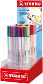 "Penseelstift ""Pen 68 Brush"" display met 80 stuks - Assortie"