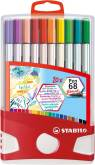 "Penseelstift ""Pen 68 Brush"" set van 20 stuks - Assortie (Blister)"