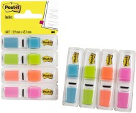 "Index ""Smal"" 35 tabs per kleur, 4 kleuren per set - 11.9x43.1mm (Blister)"