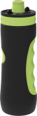 "Sportfles ""SWEAT"" 680 ml - Black/Lime"