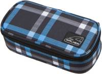 "Pennendoos ""Box Classic"" 21x10x6cm, 600D Polyester - Cross Blue"