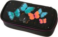 "Pennendoos ""Box Butterfly"" 21x10x6cm, 600D Polyester - Black"