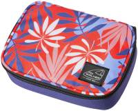 "Pennendoos ""Big Box Classic"" 22.5x16x6cm, 600D Polyester - Red Leaves"