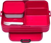 "Lunchbox bento ""Take a Break"" large, 255x170x65mm - Nordic Red"